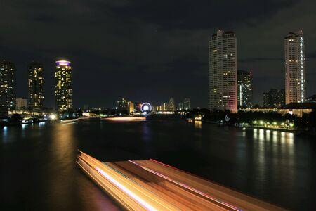 bangkok city: River in bangkok city
