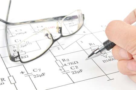 Circuit diagram photo