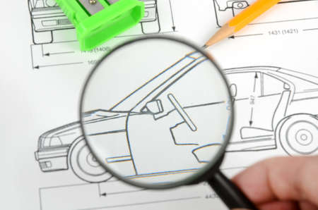 uto: Car blueprint