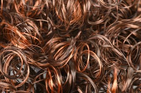 untangle: Woman wig Stock Photo