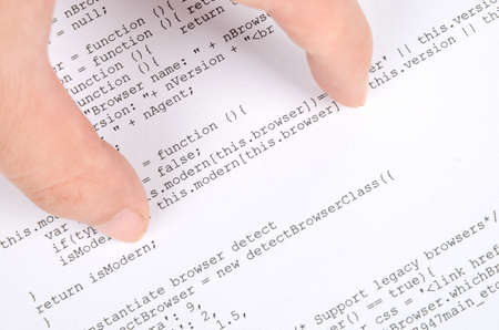Html page and hand