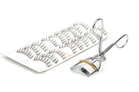curler: False lashes and curler