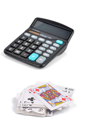 Poker and calculator