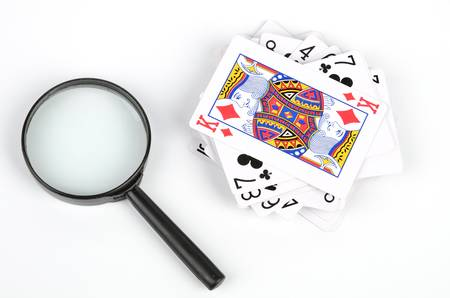 Poker and magnifier