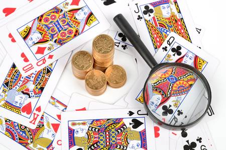Poker and coins