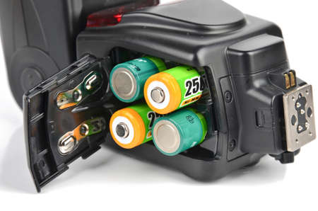 reloading: Flash lamp and battery
