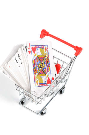 Poker and shopping cart