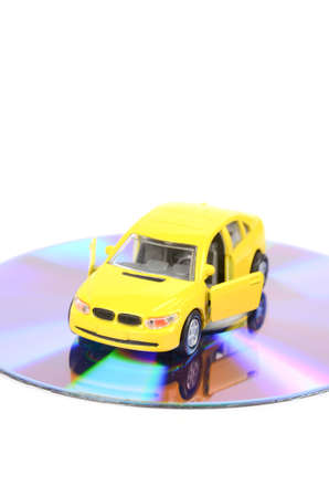 blu ray: Toy car and DVD