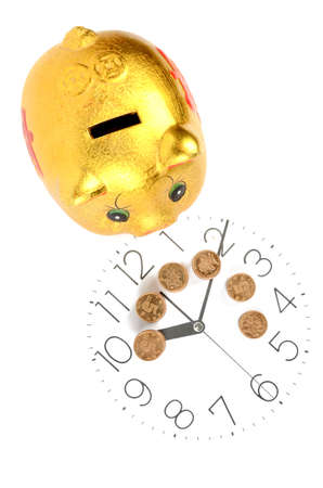 Time is money Stock Photo - 12448261