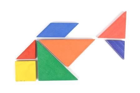 Chinese tangram Stock Photo - 12451938