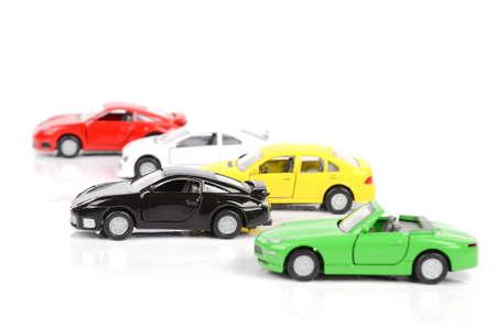 Petites voitures Banque d'images