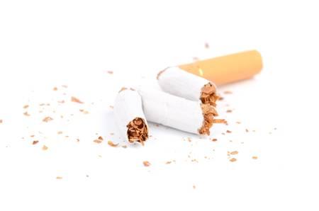 brand damage: Cigarette Stock Photo
