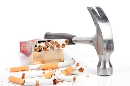 brand damage: Stop smoking
