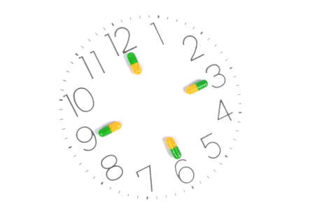 Take medicine on time photo