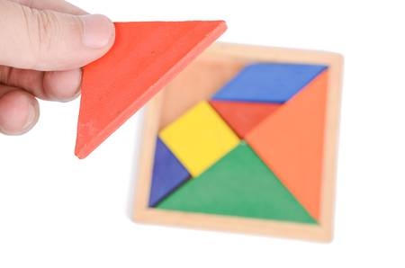 color tangram: Tangram