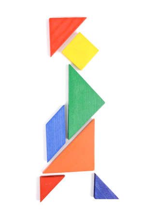 Chinese tangram photo