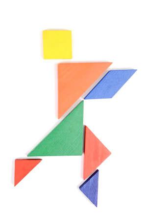 Chinese Jigsaw puzzles photo