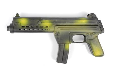interphone: Toy gun Stock Photo