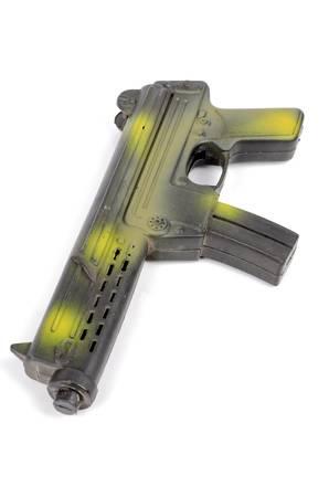 backsight: Toy gun Stock Photo