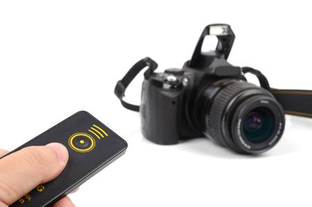 Remote control and dslr photo