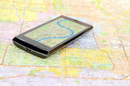 handheld device: GPS