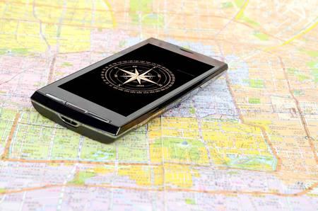 Digital compass Stock Photo - 12690313