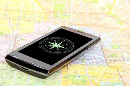 Digital compass Stock Photo - 12690318