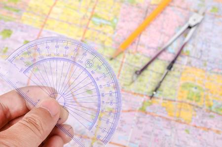 the plotting: Plotting on a map