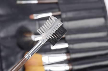 Eyelash comb photo