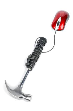 Hammer and mouse photo