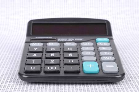Calculator and binary code Stock Photo - 12698389