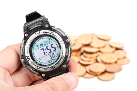Time is money Stock Photo - 12822557