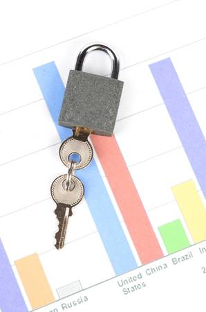 Financial security Stock Photo - 12820707