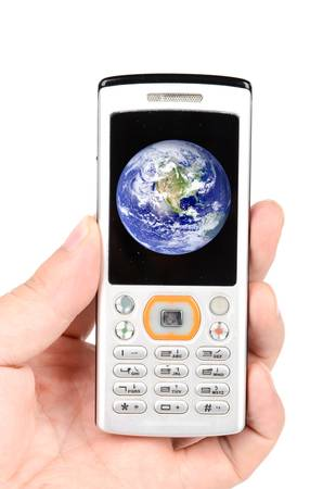 mobil phone: Mobil phone and earth