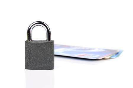 financial security: Financial security concept Stock Photo