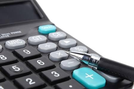 teclado numerico: Oficina de la herramienta Foto de archivo