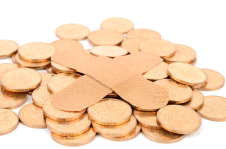 ban aid: Money Stock Photo