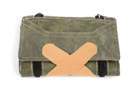 ban aid: Wallet