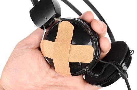 ban aid: Deaf