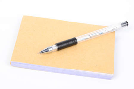 Notebook and pen Stock Photo - 12874837