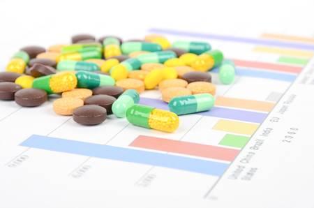 economic growth: Medicine Stock Photo