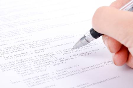 xml: Xml code and pen