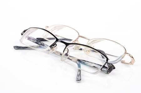 eye wear: Two glasses Stock Photo