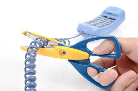 disconnecting: Telephone