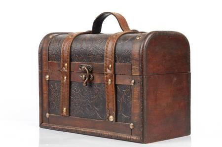 Wood box photo