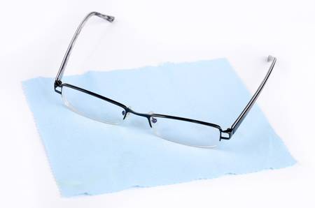 Cleaning glasses Stock Photo - 12974555