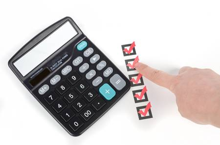 Calculator Stock Photo - 12974562
