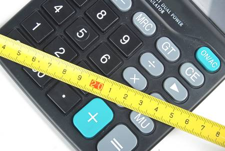 cm: Calculator and ruler
