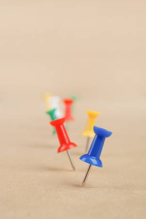 Push pin Stock Photo - 13086624