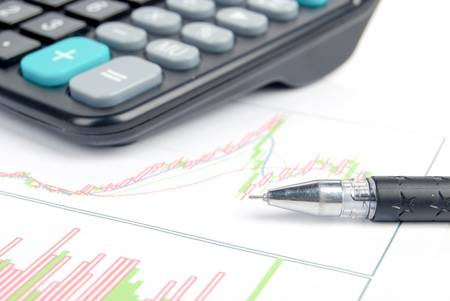 bank records: Business Stock Photo
